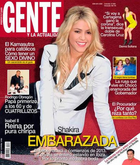 Que sí, que no... Shakira, ¿estás o no embarazada?