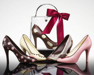 """Gayle´s Chocolates"", zapatos de chocolate"