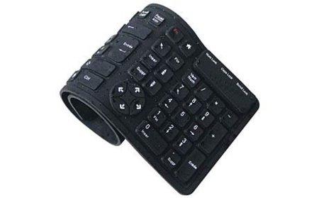Duraflex, teclado enrollable y resistente al agua