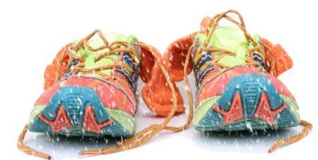 Consejo: no seques las zapatillas en el radiador