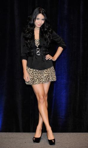 Tendencias en peinados para la Primavera-Verano 2010: el estilo de las celebrities. Vanessa Hudgens