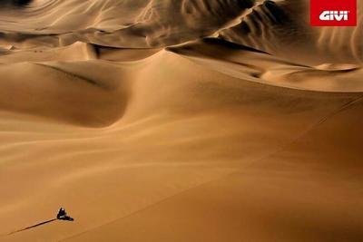 GIVI al Rally Dakar 2015 como patrocinador y como anfitrión