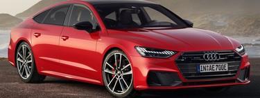 Audi A7 Sportback 55 TFSI e quattro: El primer híbrido enchufable del segmento con tracción total