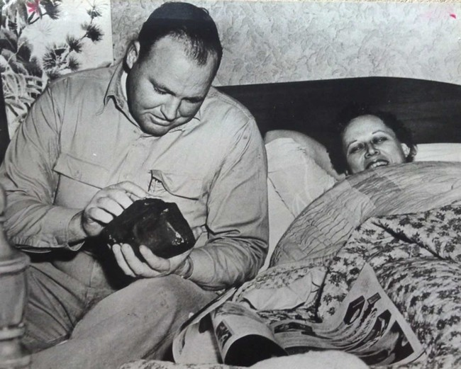 Ann Hodges 1954 meteorito
