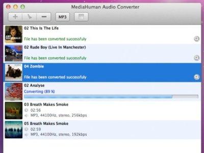 MediaHuman Audio Converter, extrae y convierte audio de los vídeos