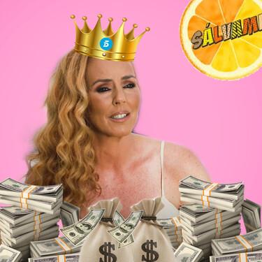 El pastizal que Telecinco paga a Rocío Carrasco: este es su sueldo por aparecer en 'Sálvame' un día a la semana