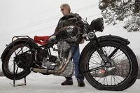 Pescando una moto clásica