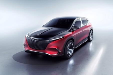 Mercedes Maybach EQS Concept: lujo, elegancia y movilidad eléctrica en su máxima expresión