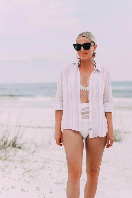 Look Playa Camisa Bikini 05