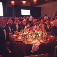 La mesa de Laura Sánchez y Boris