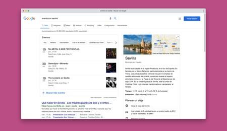 Google ahora nos ayudará a encontrar eventos cerca de nosotros o en una localidad determinada