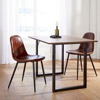 Lidl le planta cara a Ikea con sus muebles low cost: llévate un set de sillas de diseño industrial por 64,99 euros