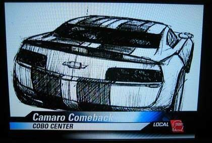 Chevrolet Camaro Scketch Sang Lee
