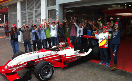 Moisés Soriano realiza una prueba en Fiorano con la Ferrari Driver Academy