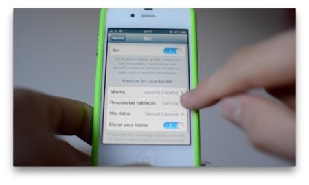 Screencast: así funciona Siri en Español