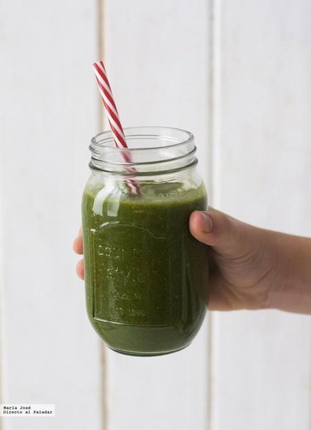 batido verde para el desayuno