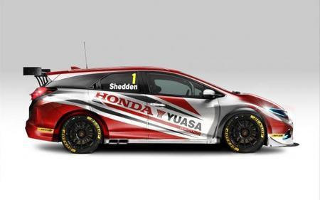 Curiosidades en competición: Honda Civic Tourer para el BTCC