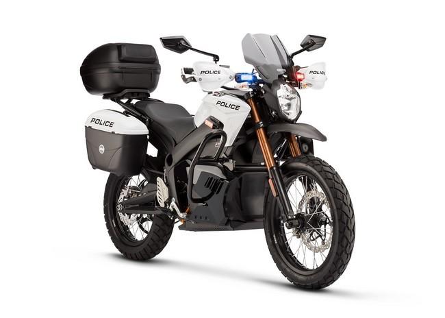 moto eléctrica Zero DS policía
