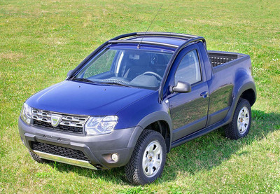 El Dacia Duster Pick-Up ya es una realidad