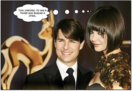 Rumores de divorcio acechan a TomKat