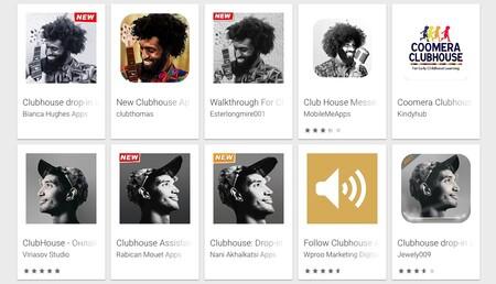 No, Clubhouse no está en Android aunque en Play Store haya decenas de apps que parecen la auténtica