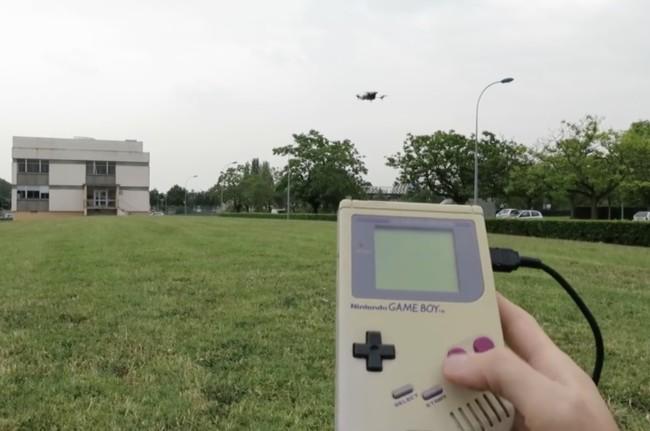 Game Boy Drone Control