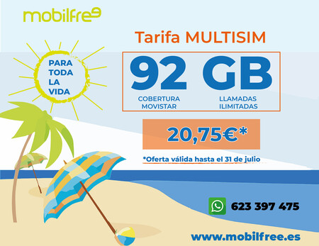 Mobilfree 92gb