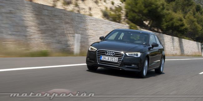 Audi A3, presentación en Mallorca