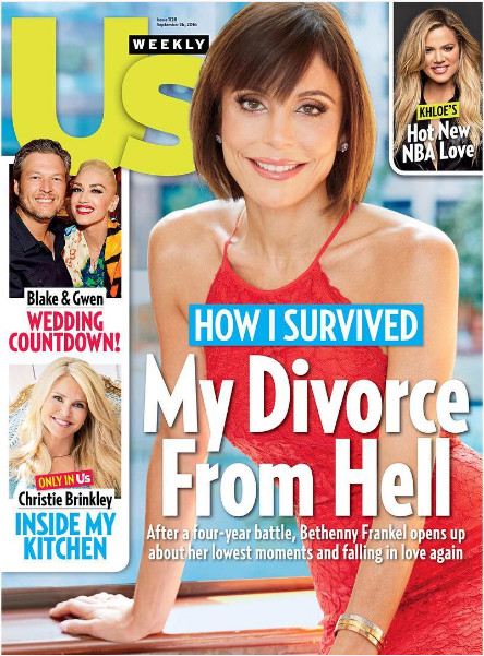 El divorcio de Bethenny Frankel