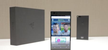 Razer Phone, toma de contacto: así es la gran apuesta por un celular gaming con pantalla de 120 Hz