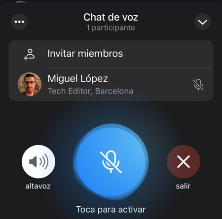 Telegram Sala Audio