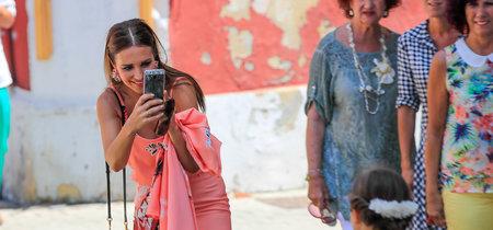 Paula Echevarría y su look para el segundo día de Comunión de su hija Daniella