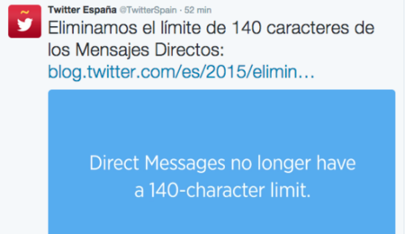 Chatear (sin limitaciones) por Twitter ya es posible