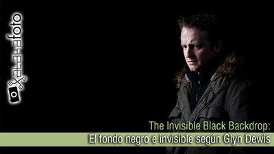 The Invisible Black Backdrop: El fondo negro e invisible según Glyn Dewis