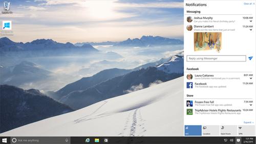 Las novedades de Windows 10 que te recomendamos probar nada más instalarlo en tu PC