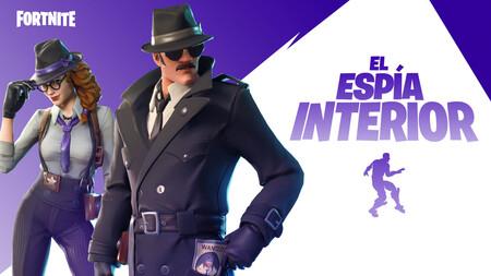 El Espía Interior de Fortnite: cómo completar todos los contratos, desafíos y misiones