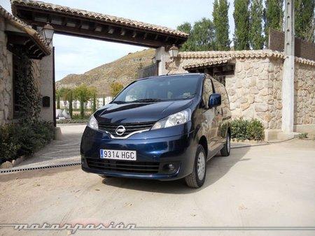 Nissan NV200 Evalia, presentación y prueba en Madrid (parte 2)