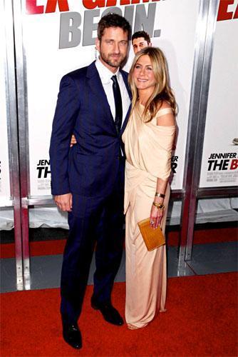 Jennifer Aniston en la premiere de Exposados en Nueva York