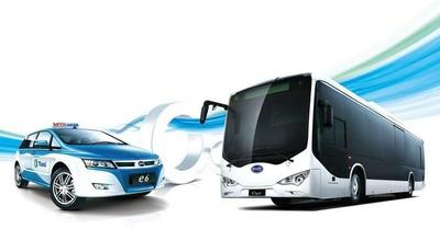2.000 autobuses y 1.000 taxis, record de pedido de vehículos eléctricos para BYD