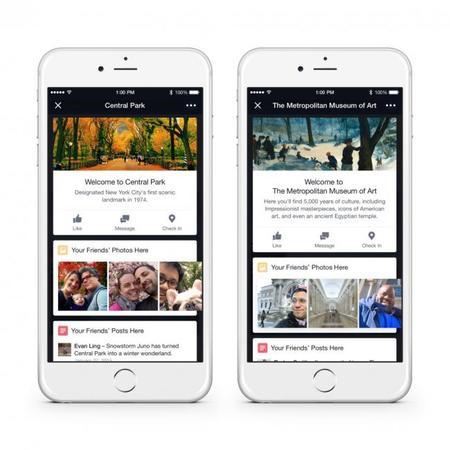 Place Tips, información de tu ubicación de la mano de Facebook