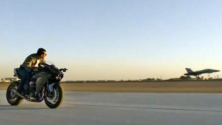 Las motos de Kawasaki serán de nuevo protagonistas junto a Tom Cruise en 'Top Gun Maverick'