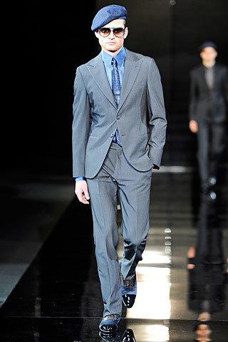 Giorgio Armani, Otoño-Invierno 2010/2011 en la Semana de la Moda de Milán