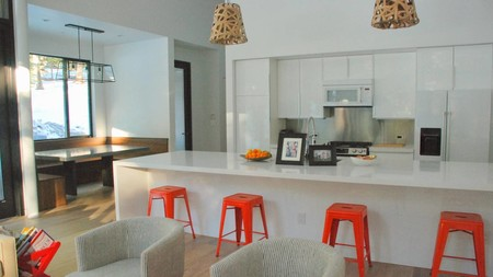 Propuestas para crear espacios abiertos en la cocina utilizando las estancias colindantes
