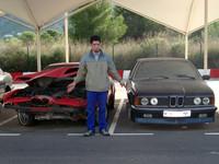 Dolorpasión™: Varios BMW clásicos pasan solos la Navidad