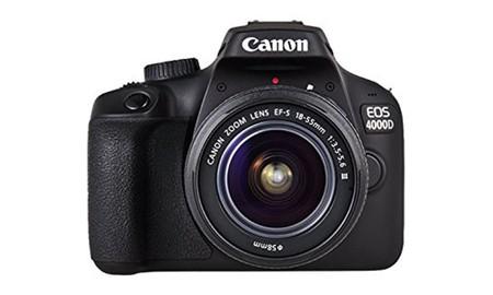La Super Week de eBay nos trae de nuevo la Canon EOS 4000D, con objetivo, por sólo 199,99 euros