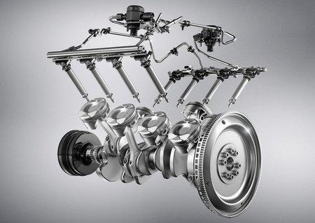 Motor V8 del Mercedes-Benz SLK 55