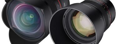 Samyang MF 85mm F1.4 y 14mm F2.8 RF: Dos clásicos de la surcoreana llegarán en primavera a la nueva montura de Canon