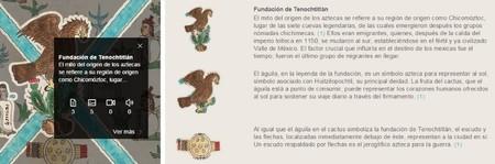 Codice Mendoza Digital Recorrido