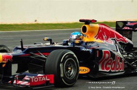 Sebastian Vettel se queja de lo poco que rodó ayer domingo