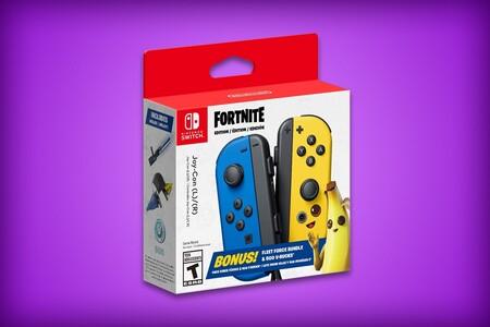 Nuevos Joy-Con de 'Fortnite' para Nintendo Switch ya se pueden reservar en Amazon México: incluyen 500 PaVos y contenido del juego